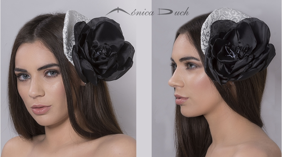Fascinator Black Night