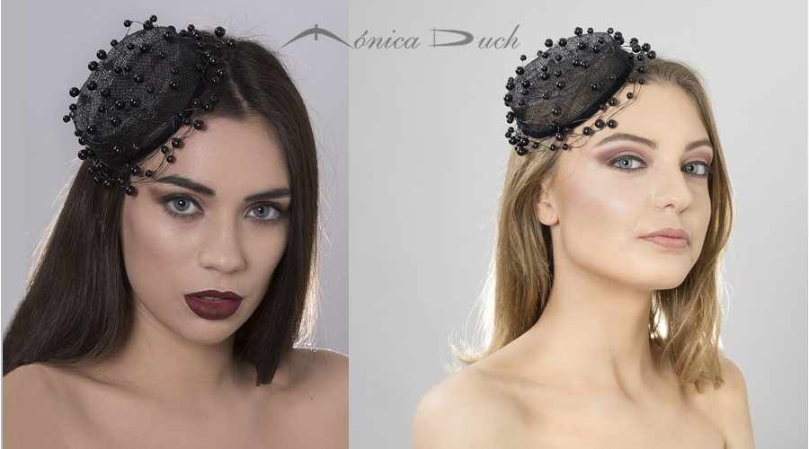 Fascinator Perla Negra