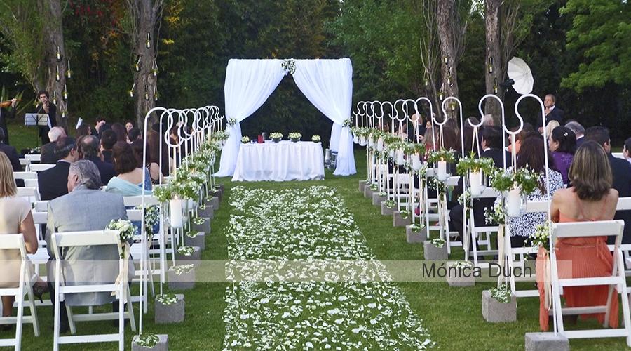 M nica duch arte y dise o floral ambientaci n for Ambientacion para bodas