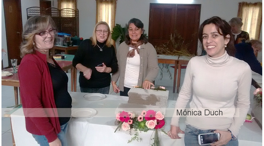 Workshop Internacional de Arte Floral by Monica Duch -  Uruguay