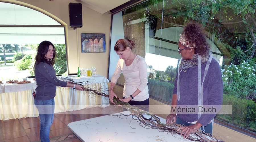 Workshop Exclusivo  by Mónica Duch - Ambientación de Ceremonia de Boda al Aire Libre