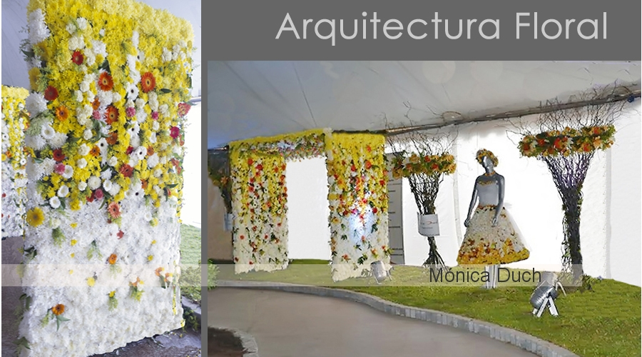 ARQUITECTURA FLORAL by MONICA DUCH - ARTE FLORAL ARGENTINA